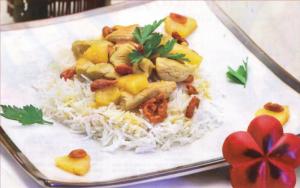 poulet aux baies de goji et ananas
